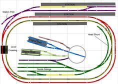 Mixture of Hornby and Peco parts for maximum operational potential.
