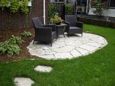 Inexpensive backyard ideas cheap backyard patio ideas - Cheap patio decorating ideas ...