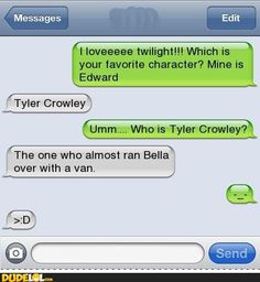 Funny Text.....nvr seen the movie but thats hilarious