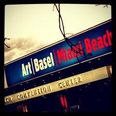 Right now!! art | basel Miami Beach 2012