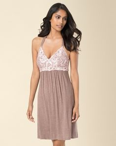 cf51007d1a Cool Nights Lace Back Sleep Chemise