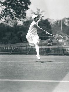 by Lartigue   ladies tennis   vintage   black & white   shot   www.republicofyou.com.au
