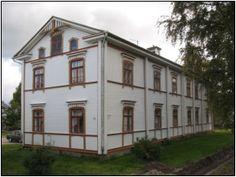 Ikkunankehysten historiaa. Kurikka, Finland.