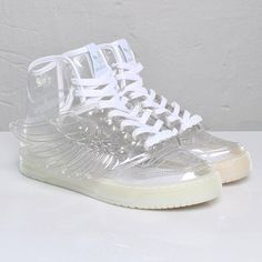 quality design 29120 14939 Adidas JS Wings - CLEAR! WANT! Jelly Shoes, Adidas Shoes, Sneakers Fashion