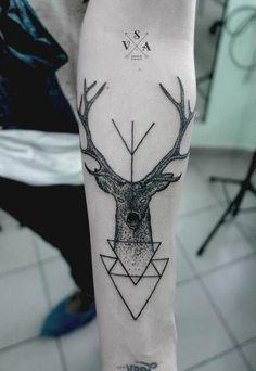 Deer Tattoo on Forearm - 45 Inspiring Deer Tattoo Designs  <3 !
