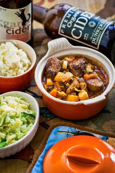 Sausage and Cider Stew, Hemsley & Hemsley: - (Free Recipe below) Gluten Free Recipes, Gourmet Recipes, Cooking Recipes, Healthy Recipes, Cooking Ideas, Crockpot Recipes, Sukkot Recipes, Supper Recipes, Healthy Soup