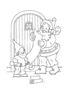 Christmas Tree With Presents Coloring Page From