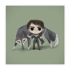Arya Stark. The Boy With the Needle Limited Edition Print