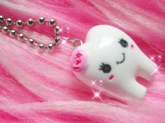 I have a cute little kawaii necklace just like this one!