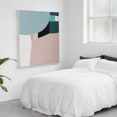 Zoe 1 is a hand painted reproduction of an artwork design originally by Sarah…