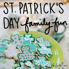 Celebrate St. Patrick's Day as a Family This Year | Intentional Living Irish Songs, Book Outline, Chocolate Coins, Monthly Themes, Green Food Coloring, Rainbow Crafts, Family Events, Holiday Activities, Months In A Year