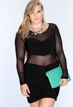 Plus size women know that to look gorgeous as a party they have to dress up to the occasion and be a style icon.