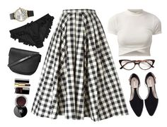 """""""You're in Trouble"""" by misspamplemousse ❤ liked on Polyvore featuring Michael Kors, Zara, Forever 21, Tom Ford, Agent Provocateur, Topshop and Chanel"""