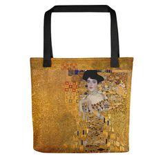 Gustav Klimt's Woman in Gold Tote Bag