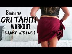 TAHITIAN DANCE WORKOUT & INTRO - with my sis !» ATFAC DAY 22 - YouTube