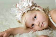 Vintage Hairbows & Headbands for Baby Girls