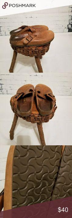 Birkenstock leather sandals brown leather sandals size 37 (6) Birkenstock Shoes