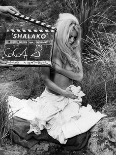 20th-century-man: Brigitte Bardot; production still from Edward Dmytryk's Shalako (1968)