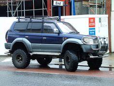 Toyota Prado 4x4 by kenjonbro, via Flickr