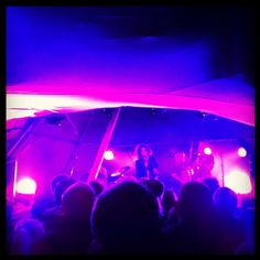 From a night gig with Neneh Cherry & The Thing in tipi tents at the Træna festival earlier this month. #nordland #norway
