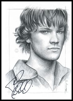 Sam Winchester revised by Cataclysm-X on deviantART Supernatural Drawings, Supernatural Fan Art, Amazing Drawings, Realistic Drawings, Amazing Art, Dean Winchester, The Boy King, Pictures To Draw, Pencil Drawings