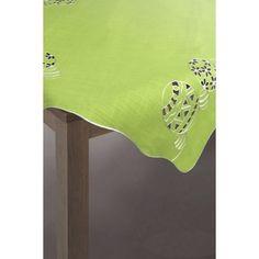 Zelený ubrus s velikonočním motivem | Dumdekorace.cz Napkins, Tableware, Dinnerware, Dishes, Napkin, Porcelain Ceramics