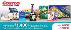 Costco Coupon Book January 2017
