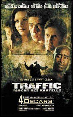 Traffic Macht des Kartells  2000 Germany,USA      IMDB Rating 7,7 (116.151)  Darsteller: Benicio Del Toro, Jacob Vargas, Andrew Chavez, Michael Saucedo, Tomas Milian,