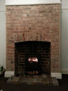 Hottest Free Brick Fireplace trim Thoughts Opening up inglenook, builders opening, exposed brick restoration, Stockton 5 midline Exposed Brick Fireplaces, Fireplace Trim, Inglenook Fireplace, Exposed Brick Walls, Living Room With Fireplace, Stove Fireplace, Fireplace Ideas, Living Rooms, Brick Restoration