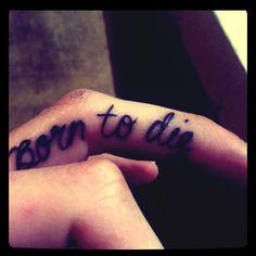 born to die tattoo - Sök på Google