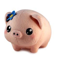 Pudgimals Gertrude the Pig Plush Toy