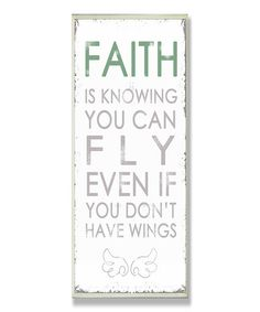 'Faith is Knowing'