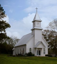 Bellville, TX    reminds me of my church in Fairview Community, Francisco, IN