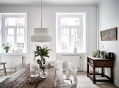 We Can't Stop Dreaming About This Bright Scandinavian Flat — Bloglovin'—the Edit