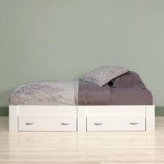 Francine Twin Platform Bed with Storage