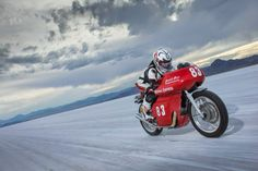 Royal Enfield Continental GT Sets land speed record - Grease n Gasoline