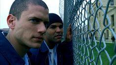 Michael Scofield and Fernando Sucre in Prison Break.