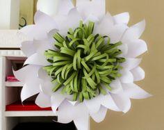 flor de papel gigante grandes esculpidas papel rosa flor decoracin o accesorio de la boda floral