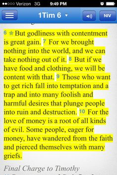 1 Timothy 6-10