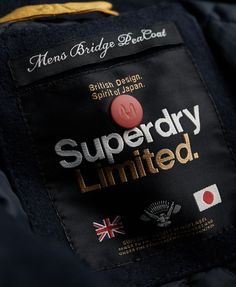 label - superdry