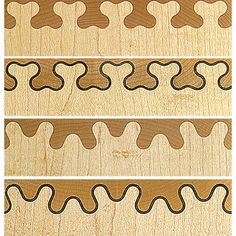 Isoloc B joint templates to fit the Leigh D4RM dovetail jig. The first entirely…