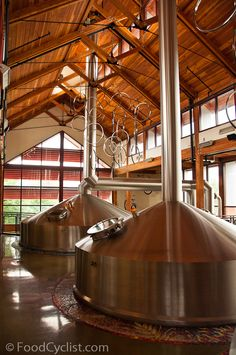 New Belgium Brewery, Colorado - seriously one of the best brewery tours I've visited.