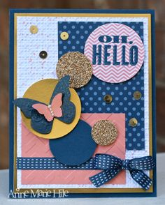 Stampin' Anne: A Golden Hello for Paper Players #182