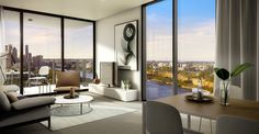 Oxley & Stirling // 9 Christie Street, South Brisbane, QLD // Client: Aria Property // Interior Designer and Architect: Elenberg Fraser