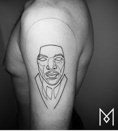 Mo Ganji tattoo