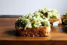 Dinner Tonight: Smoked Trout and Avocado Salad Toasts on Food52
