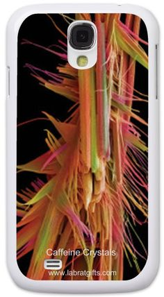 Amazing Exclusive SEM Collection - Caffeine Crystals, Samsung Galaxy S4 Case!