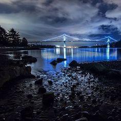 Lions Gate Bridge #Vancouver  Photo: Slimnet