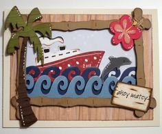 Fantabulous Cricut Challenge Blog: Life's a Beach Cartridge