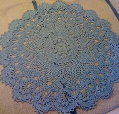 Crochet Doily Pattern Books by Patricia Kristoffersen:  One of the most challenging doilies to make, but very much worth the effort, if your fingers can stand it!